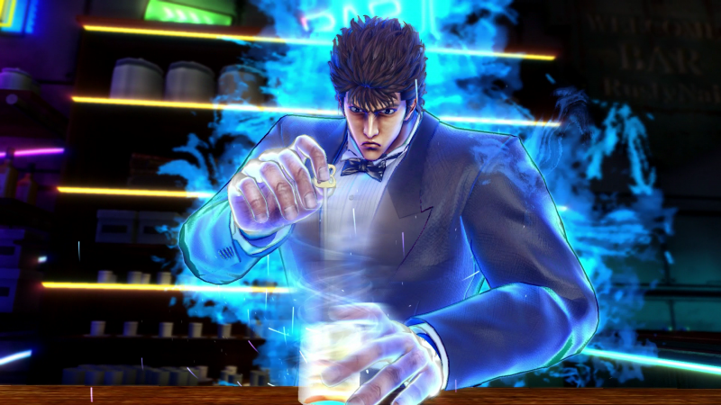 Fist of the North Star: Lost Paradise - Bartending (Foto: Sega)