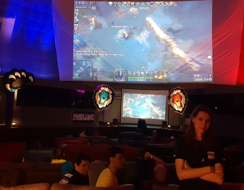 Dota viewing party