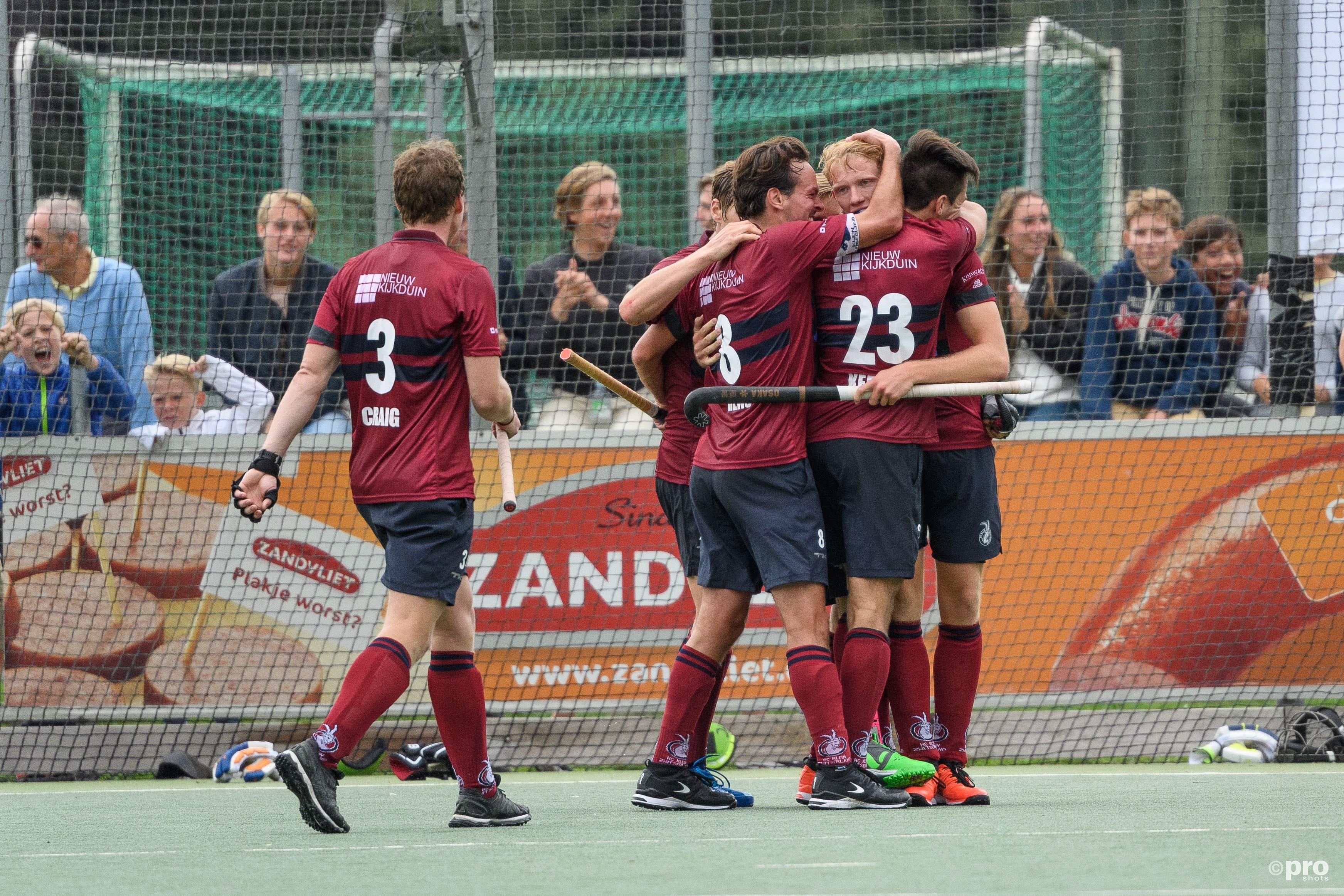 Klein Zwitserland na negen jaar terug in de Hoofdklasse. (PRO SHOTS/Jasper Ruhe)