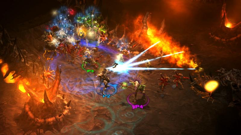 Diablo III - Four player co-op (Foto: Blizzard Entertainment)