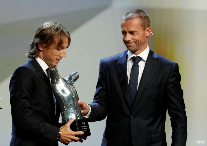 Modric wint verkiezing voor UEFA Men's Player of the Year (Pro Shots / Action Images)