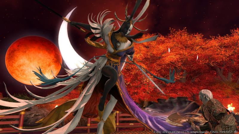 Final Fantasy XIV - Tsukuyomi (Foto: Square Enix)