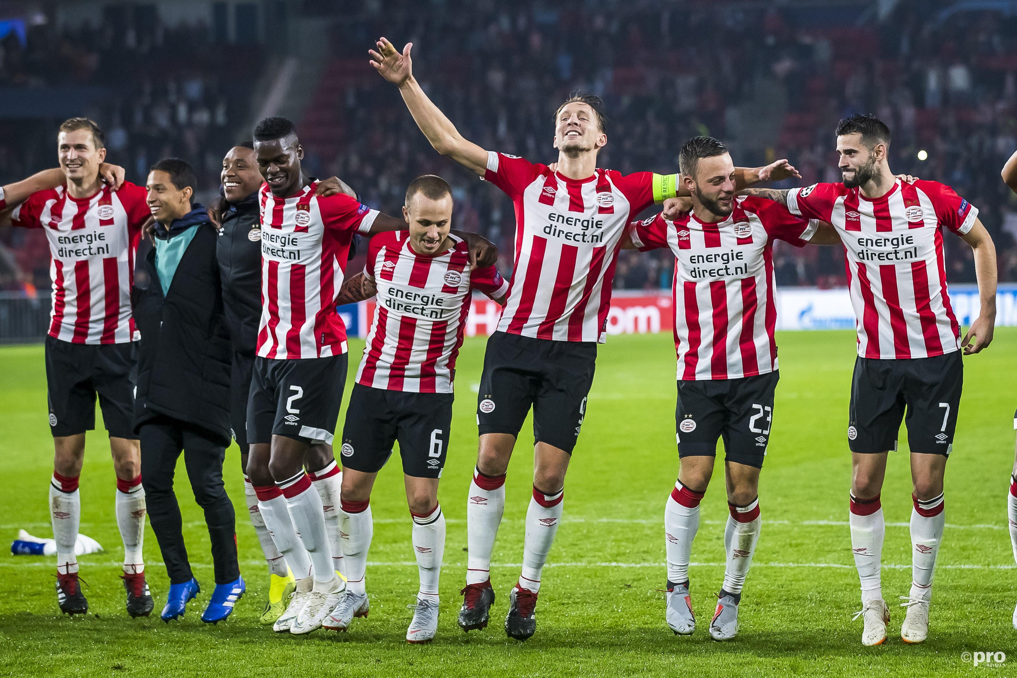 PSV ook naar groepsfase Champions League. (PRO SHOTS/Joep Leenen)