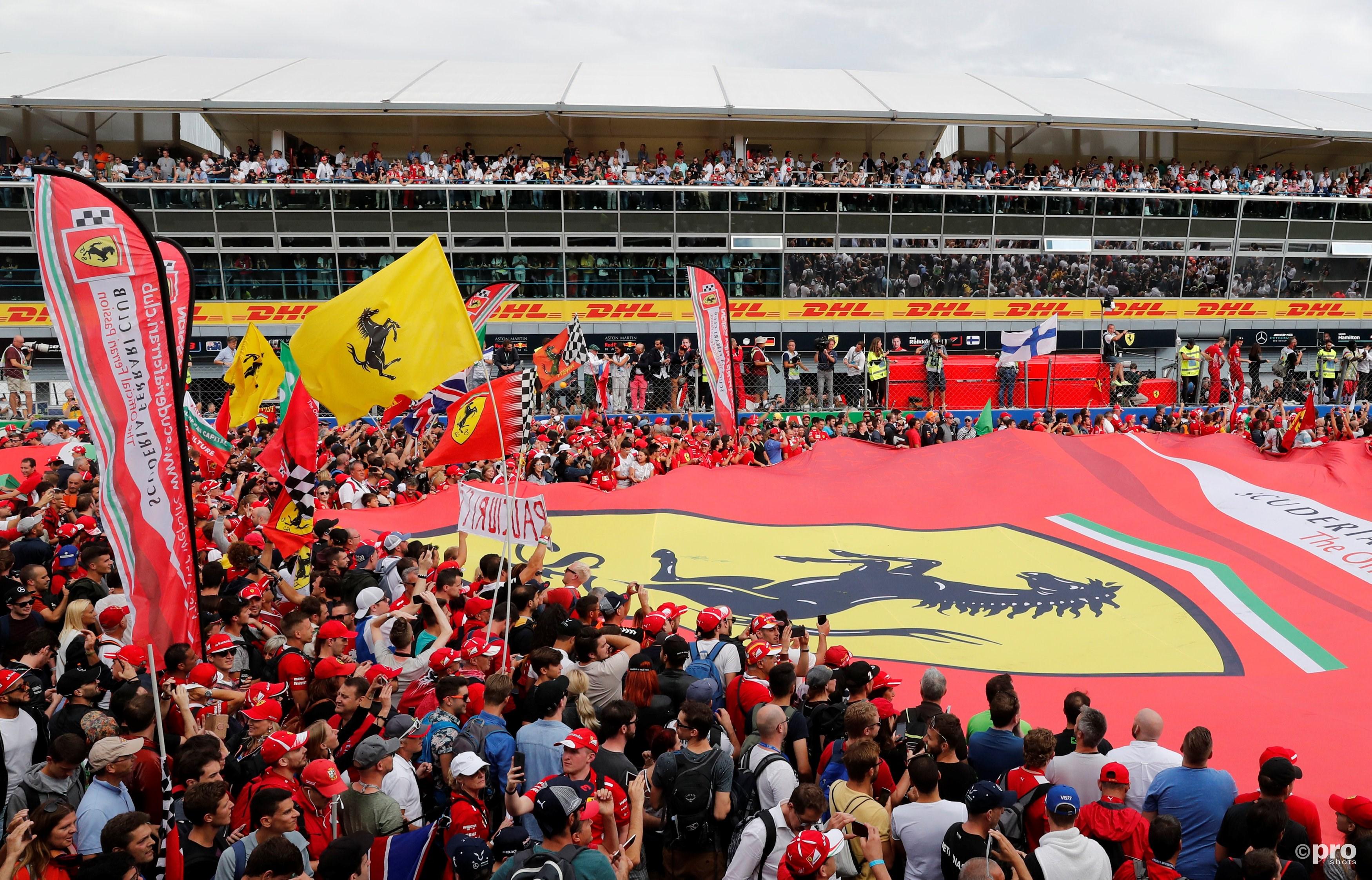 F1 van Monza. (PRO SHOTS/Action Images)