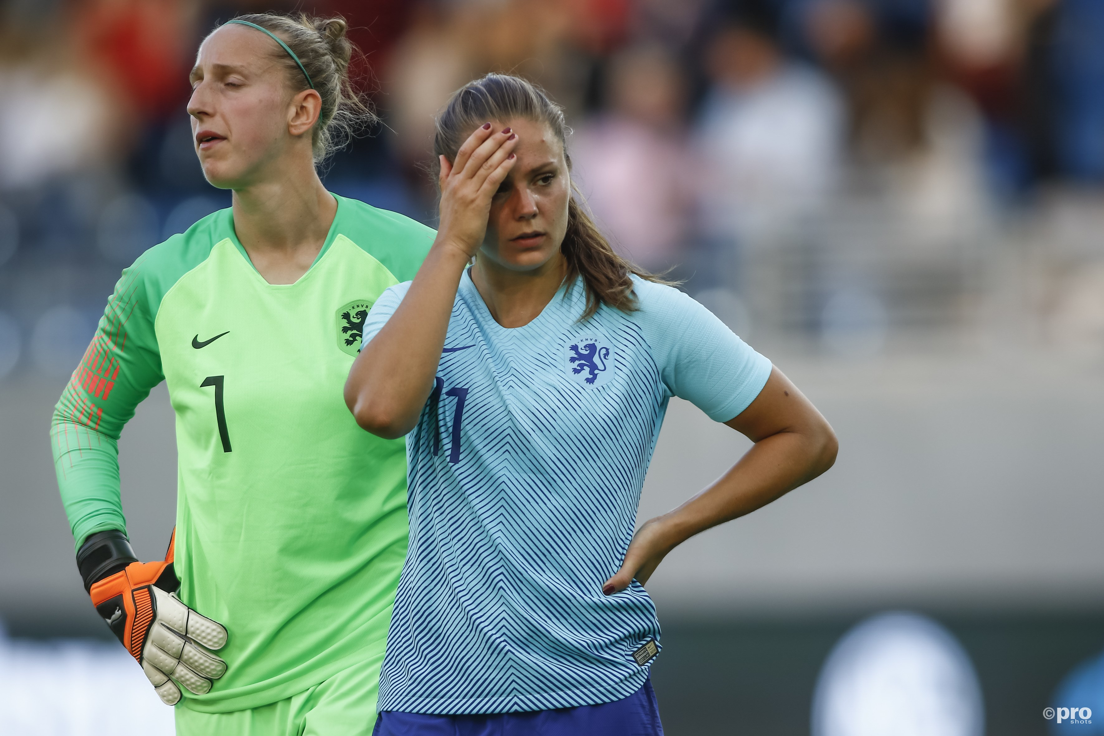 Nederlands elftal moet naar de herkansing. (PRO SHOTS/Remko Kool)