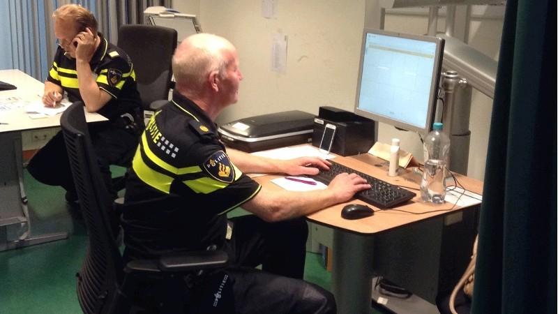 Politie.nl gaat niet op zwart (foto: stockfoto politie.nl)