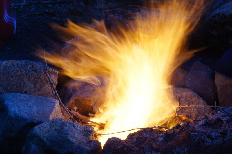 Pyromaan op heterdaad betrapt (Foto ter illustratie ©Pxhere.com)