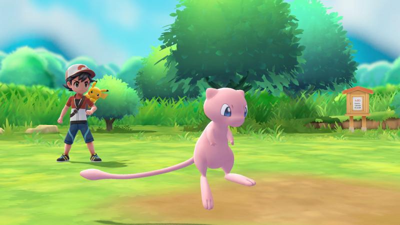 Pokémon: Let's Go Pikachu - Mew (Foto: Nintendo)
