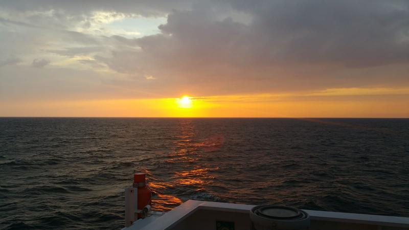Zonsondergang bij Gotland. (Foto: Interpretatie)
