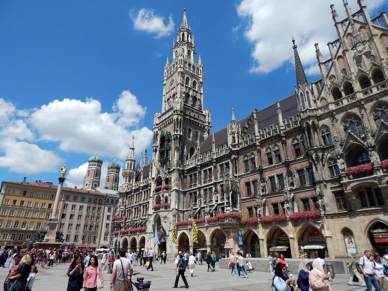 Het nieuwe raadhuis van München (Foto: bazbo)