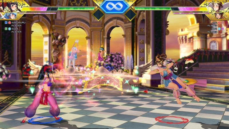 SNK Heroines Gameplay 1
