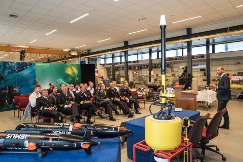 3 nieuwe onderwaterdrones voor Mijnendienst (Foto: Defensie)