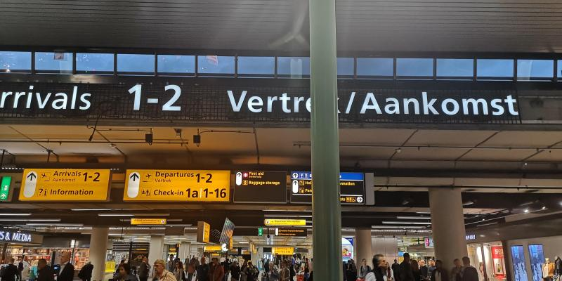 Schiphol  (Foto: FOK! )