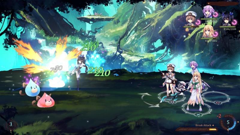 Super Neptunia RPG - Battle (Foto: Idea Factory)