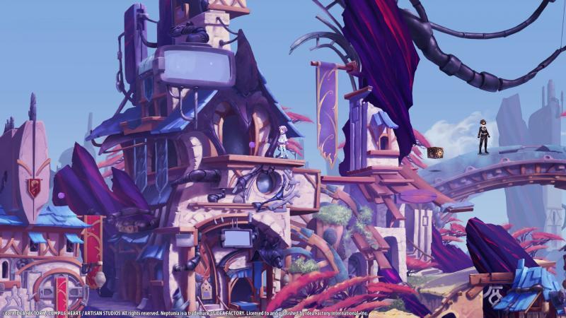 Super Neptunia RPG - World (Foto: Idea Factory)