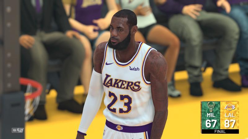 NBA 2K19 - LeBron James (Foto: 2K Games)