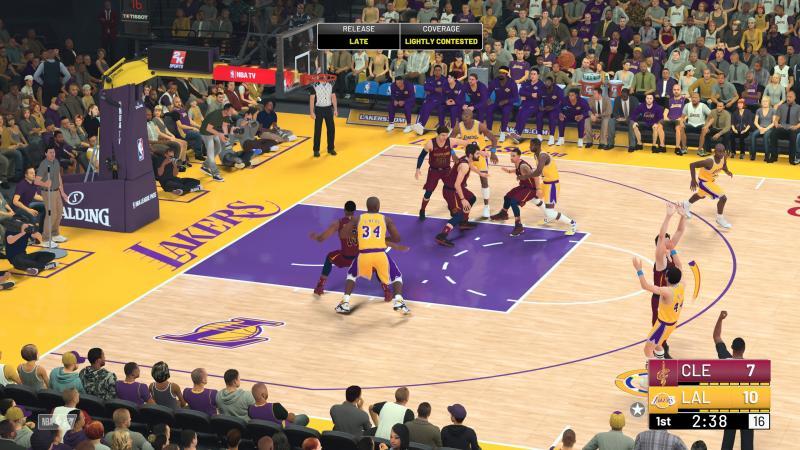 NBA 2K19 - Shot Meter (Foto: 2K Games)