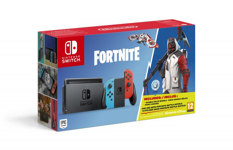 Nintendo Switch-bundel met Fortnite (Foto: Nintendo)