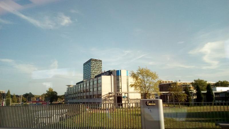 qltel maakte een reisje met de trein en kwam langs Nijmegen Goffert (Foto: qltel)