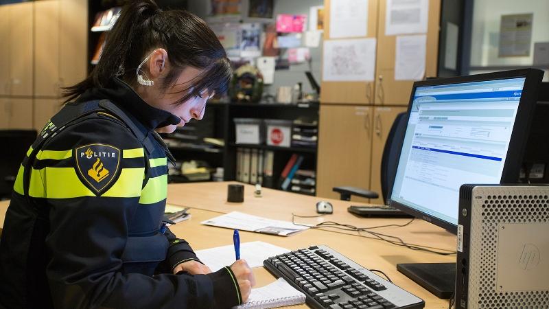 Politie dokt 40.000 euro vanwege overtreding privacywet (Foto: Stockfoto politie.nl)