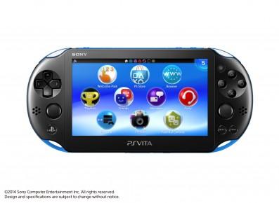 PlayStation Vita Kleur Blauw Voorkant