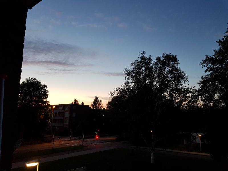 Uitzicht vanaf het balkon van...  (Foto: Spylacopa_68 )