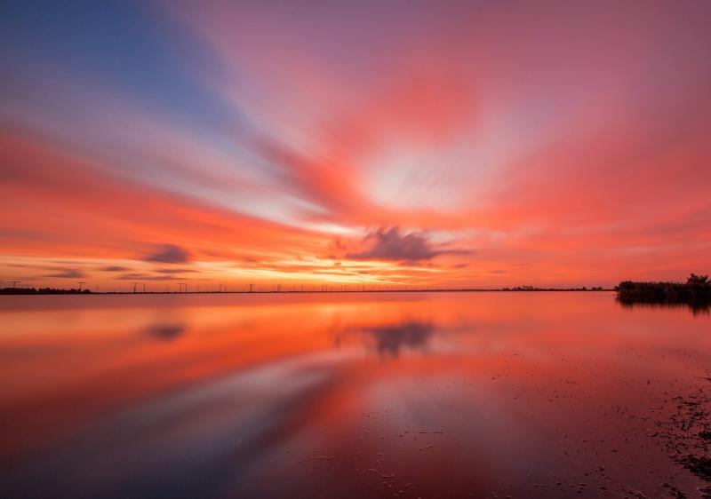 Prachtige zonsopkomst (Foto: KlapMongeaul)