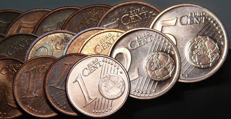 België heeft gebrek aan 1 en 2 cent muntjes (Foto: Stockfoto PXhere)