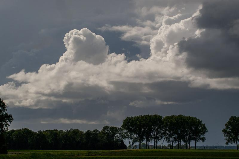 Ouwesok zag een tijdje terug een prachtige buienlucht naderen (Foto: Ouwesok)