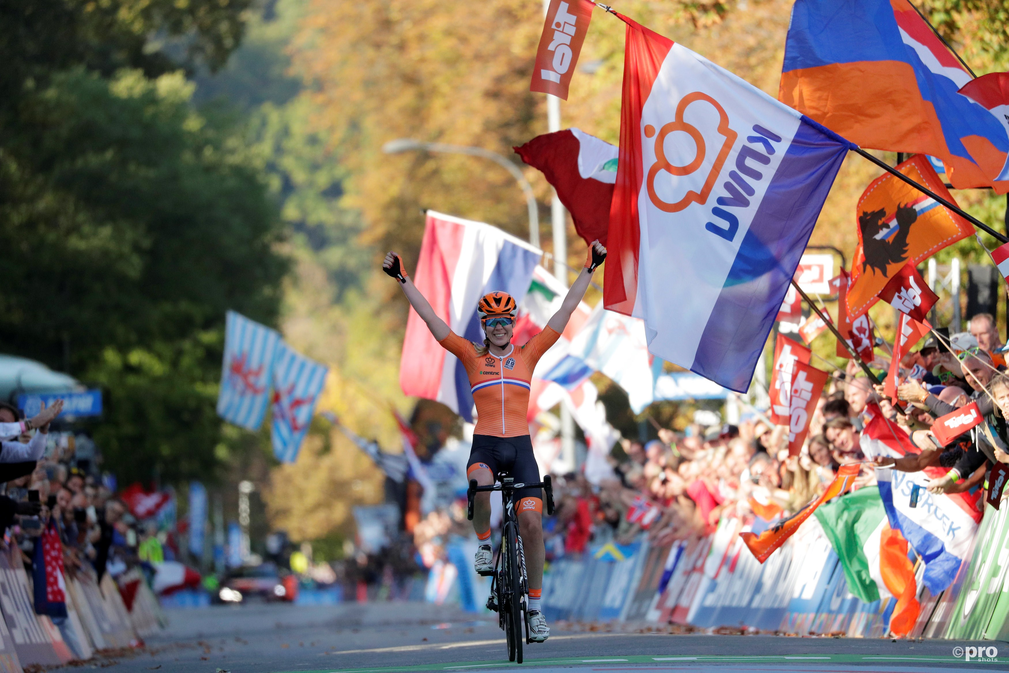 Van der Breggen duidelijk de beste bij WK wielrennen (Pro Shots / Action Images)