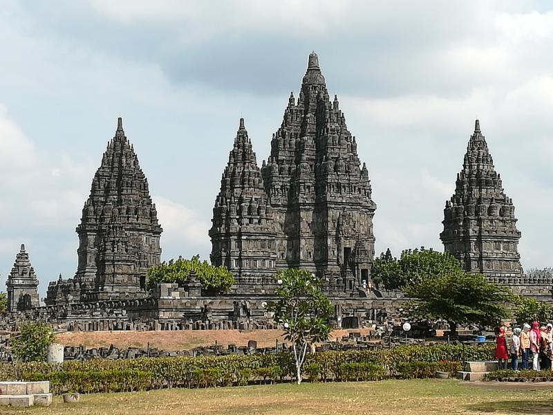 Het prachtige Hindoe tempelcomplex van Prambanan, niet ver van Jogjakarta, op Java (Foto: Blind_guardian)