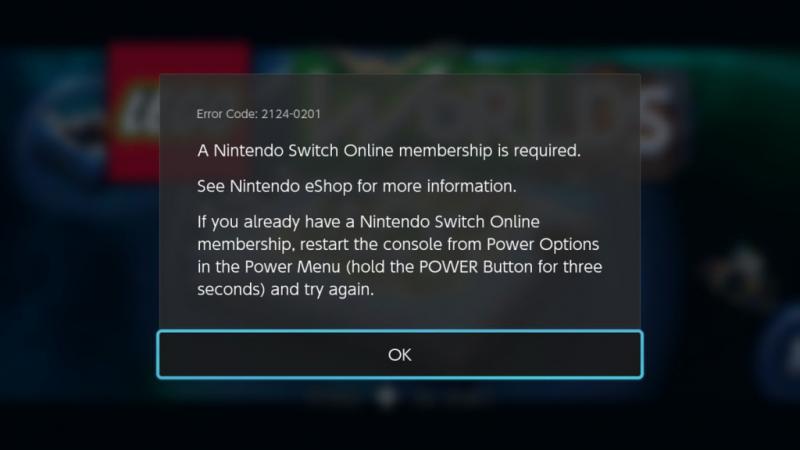 Nintendo Switch Online DLC