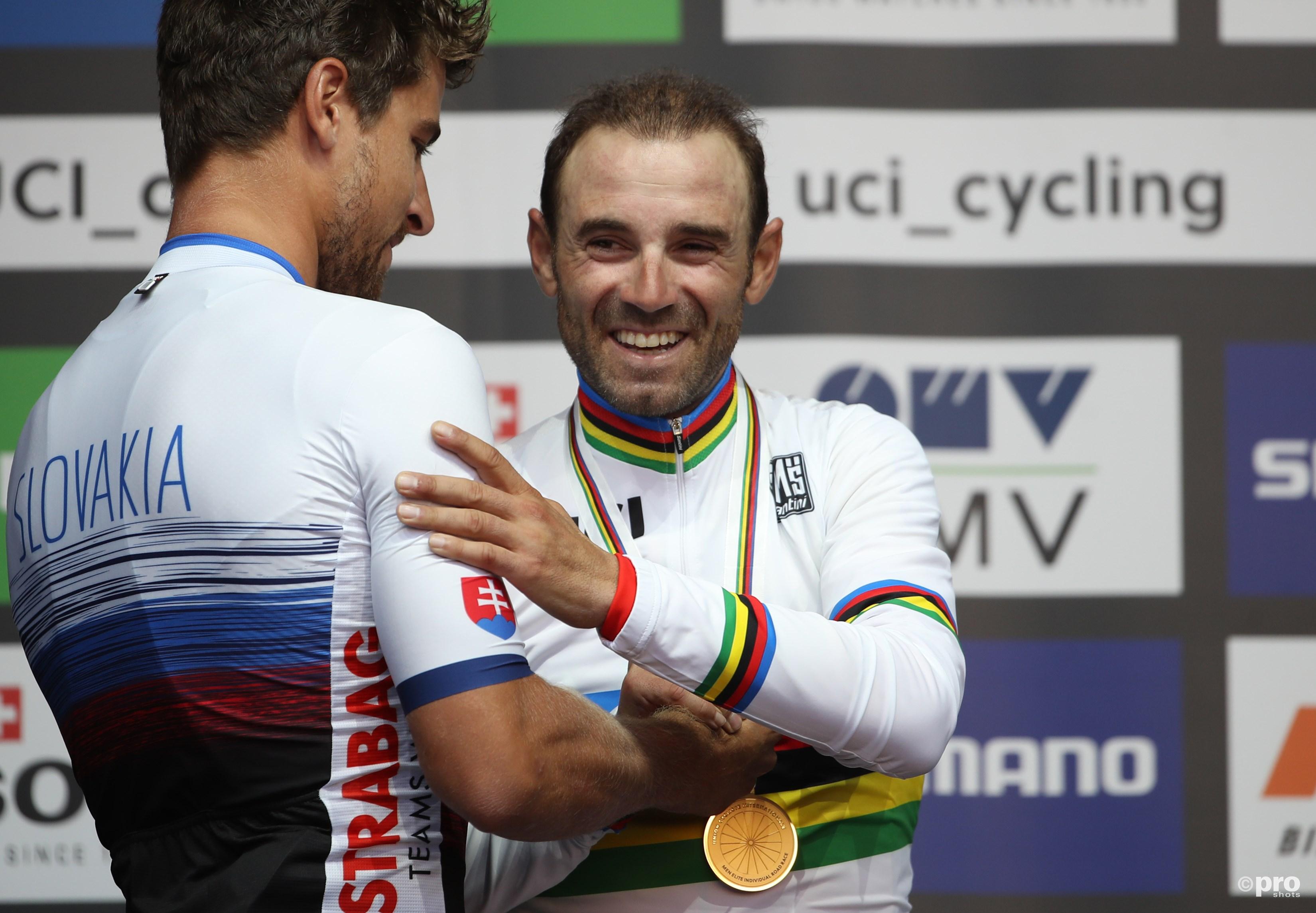Valverde eindelijk wereldkampioen. (PRO SHOTS/Gepa)