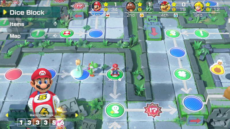 Super Mario Party Gameplay