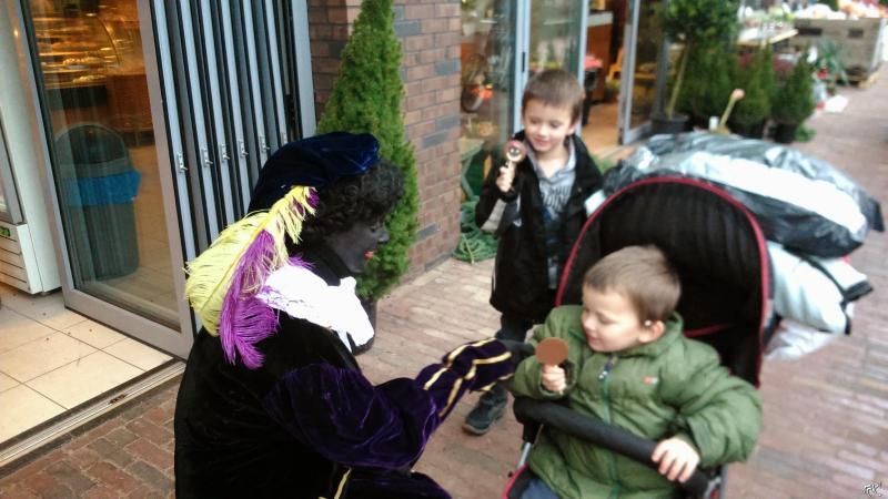 Toen Zwarte Piet nog gewoon Zwarte Piet was ... (Foto: DJMO)