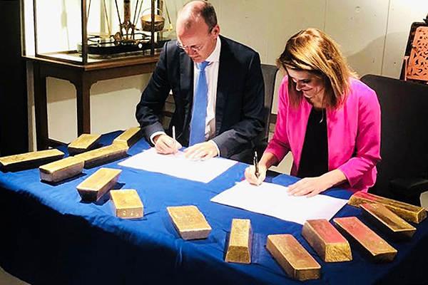 Defensie gaat goud DNB beschermen (Foto: Defensie)