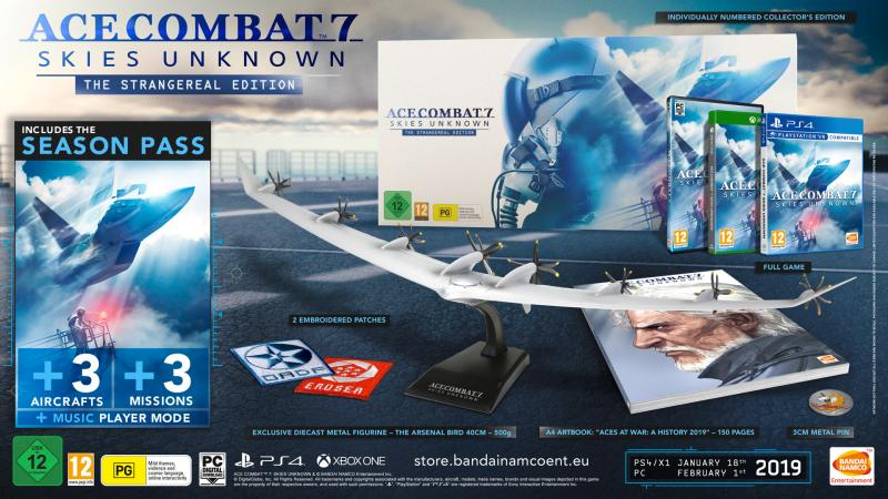 Ace Combat 7: Skies Unknown Strangereal Edition