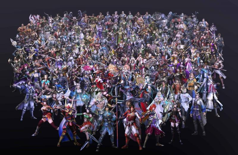 Warriors Orochi 4 - Cast (Foto: Koei Tecmo)