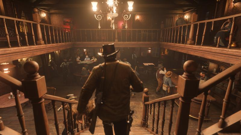 Red Dead Redemption 2 - Saloon (Foto: Rockstar Games)