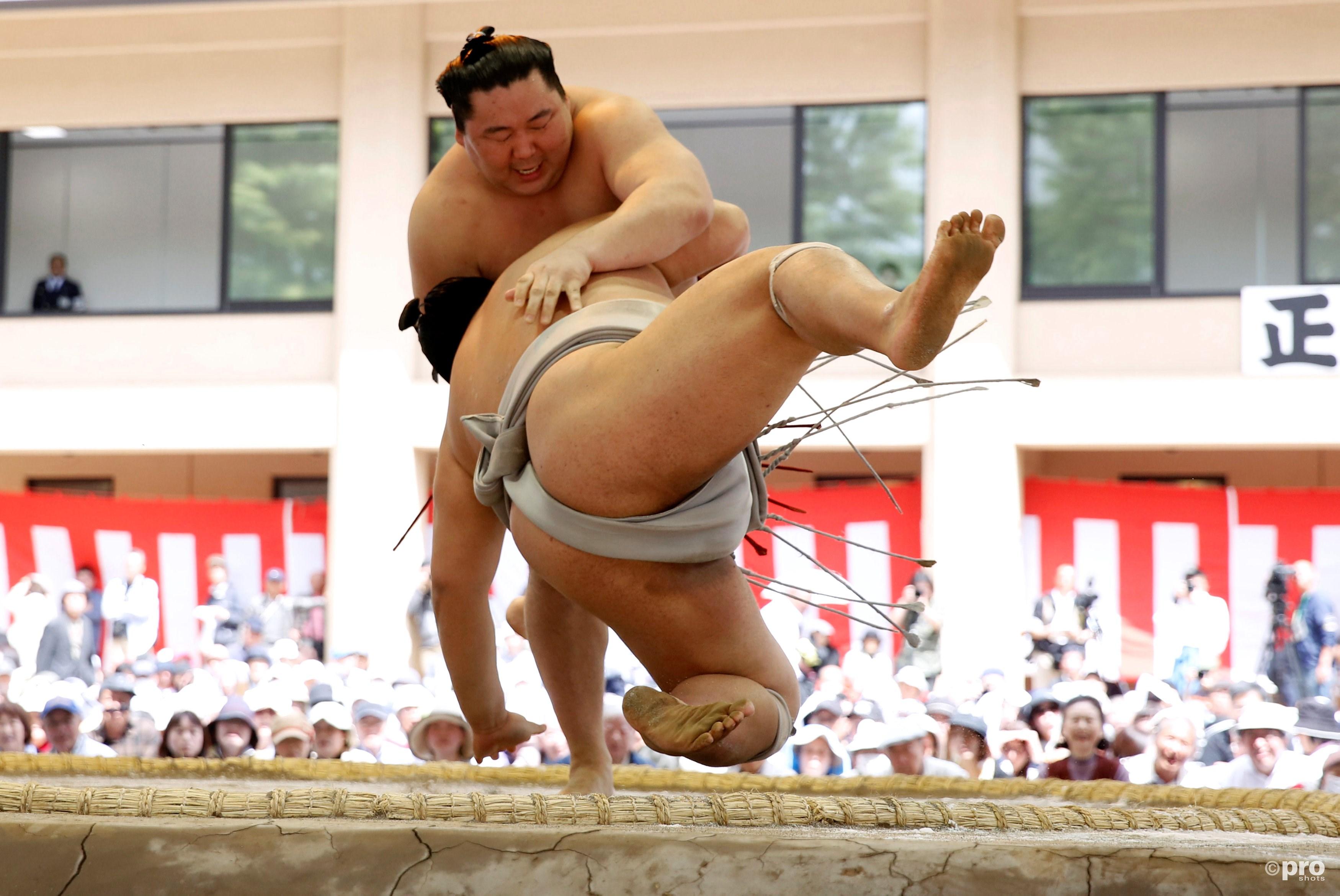 Sumoworstelen is nu officieel erkend door het IOC. (PRO SHOTS/Action Images)