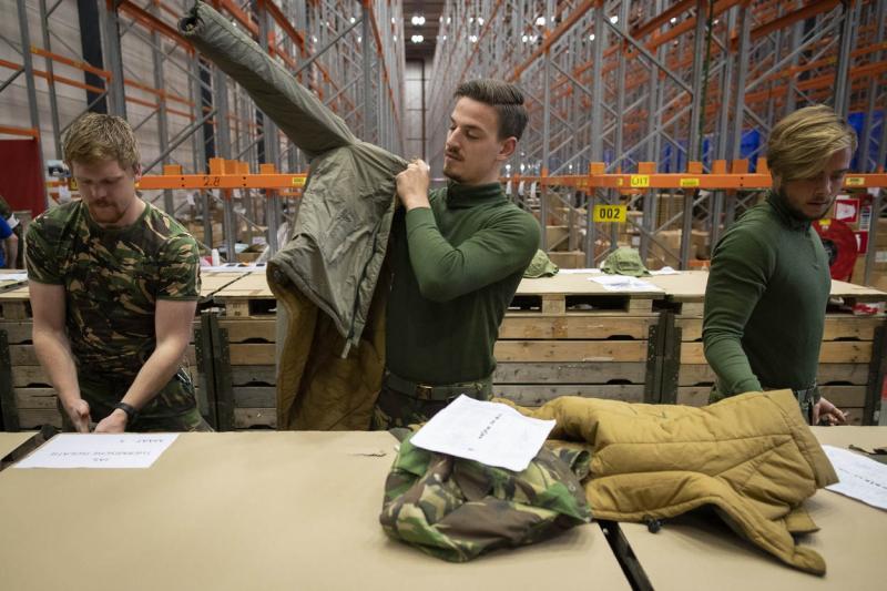 Defensie regelt alsnog winterkleding (Foto: Defensie)