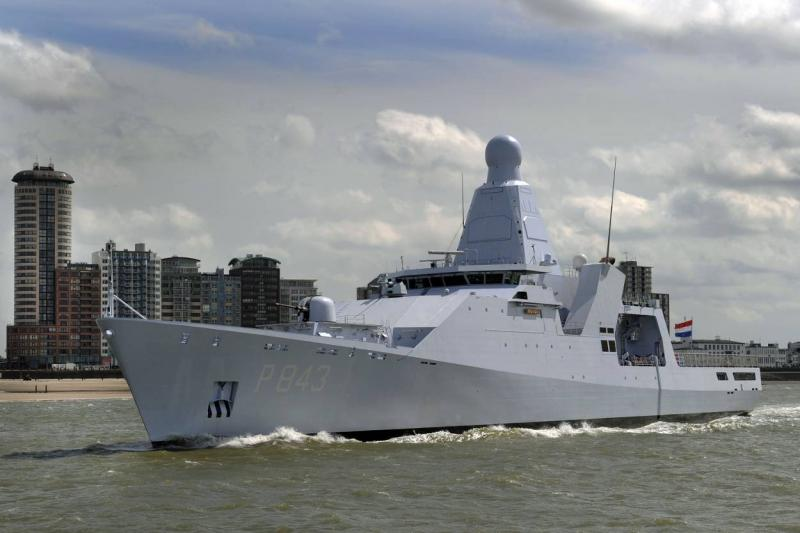 Zr. Ms. Groningen (Foto: Defensie.nl)