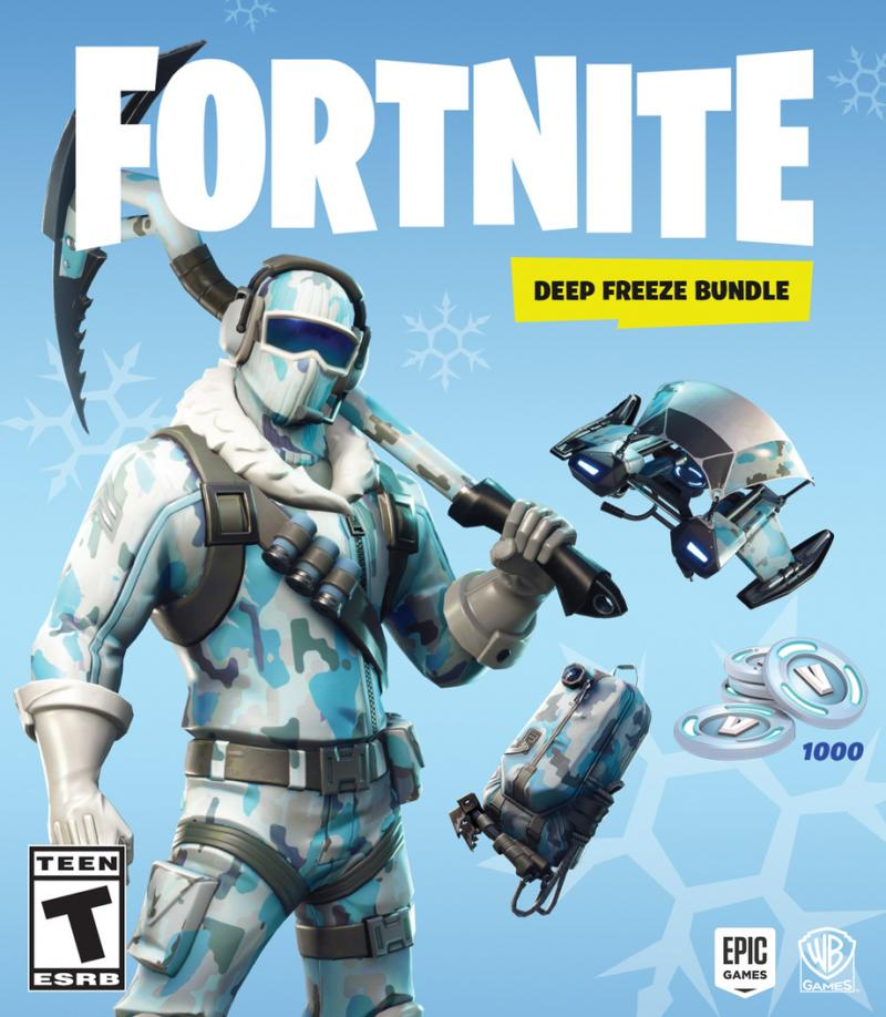 Fortnite Deep Freeze Bundel