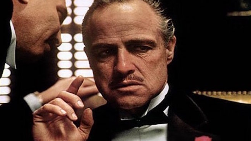 The Godfather: Marlon Brando