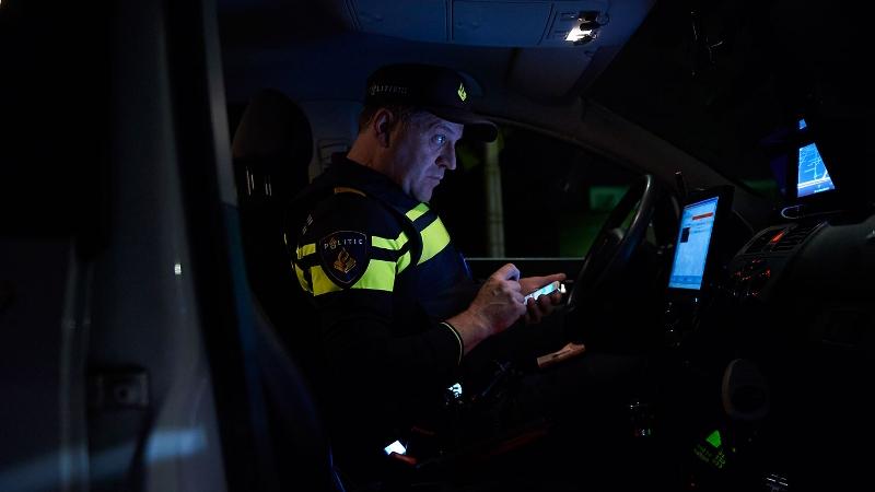 Onderzoek naar verstoren Pegida-demonstratie (Foto: Stockfoto politie.nl)