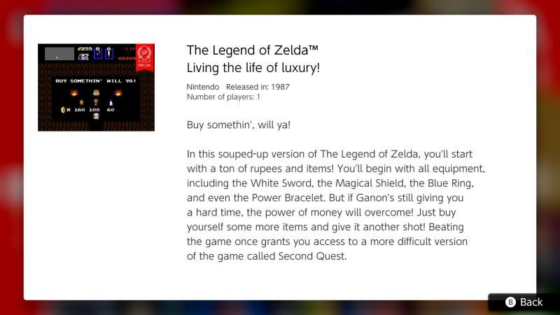 legend of Zelda easy mode