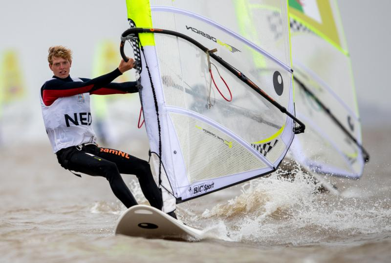 Luc Schmitz kende een aardige dag op het water (Gabriel Heusi for OIS/IOC)