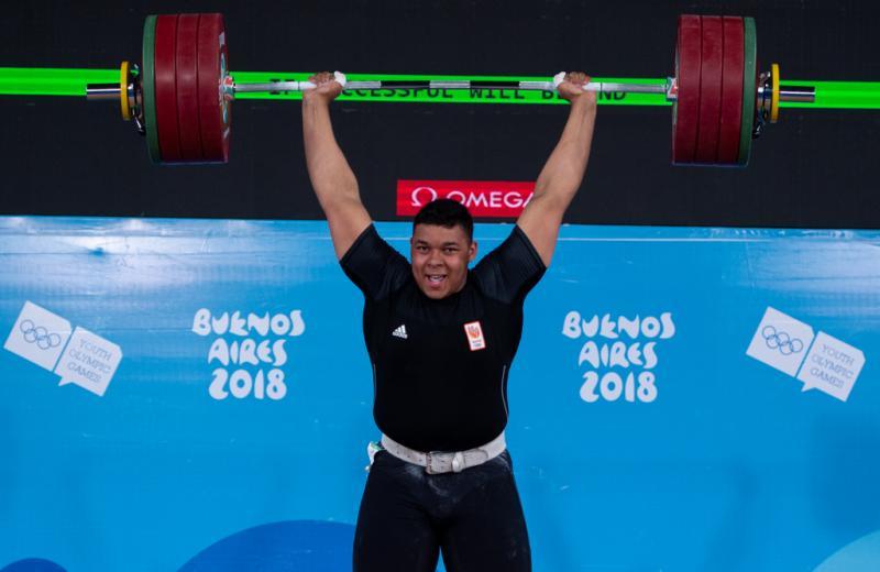 Kuworge trekt en stoot zich een weg naar jeugdolympisch brons (Florian Eisele for OIS/IOC)