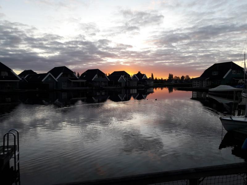 Begin oktober spotte Charged deze mooie lucht in de buurt van Offingawier(Foto: Charged)