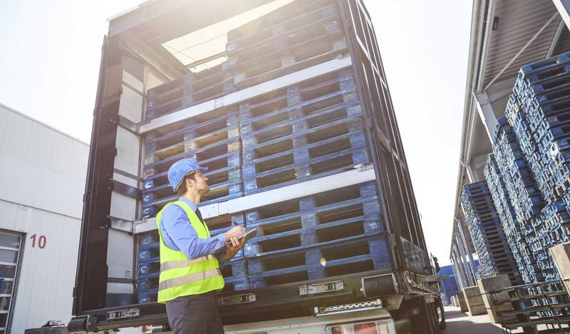 Gratis pallets tegen voedselverspilling (Foto: CHEP Benelux)